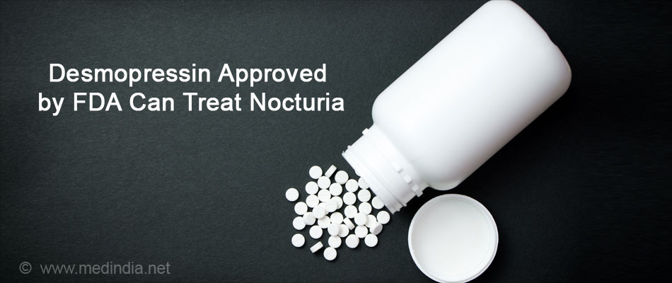 Desmopressin Approved by FDA Can Treat Nocturia