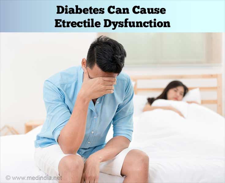 Diabetes Can Cause Erectile Dysfunction