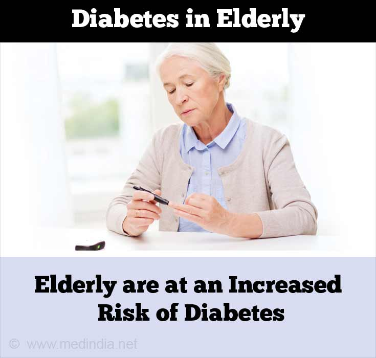 Elderly are at an Increased Risk of Diabetes