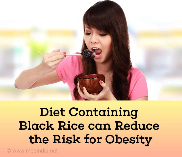 Diet Containing Black Rice can Reduce the Risk for Obesity