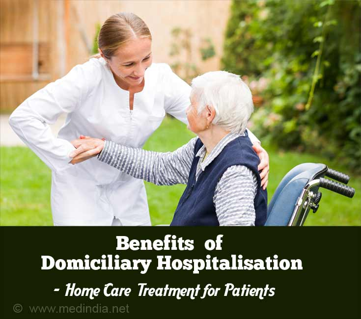 Domiciliary Hospitalisation Benefit - Patient Treated At Home