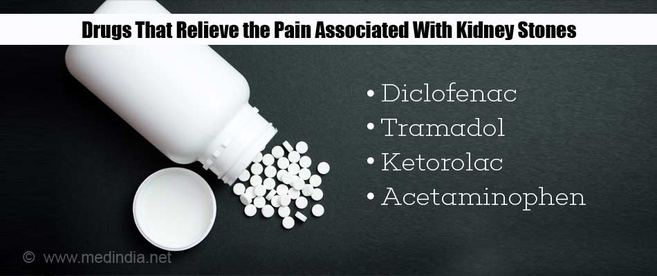 Drugs That Relieve the Pain Associated With Kidney Stones