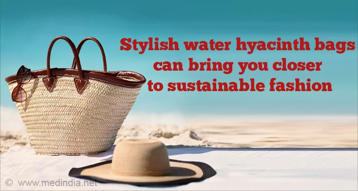 Eco-Friendly Water Hyacinth Bags Make a Sustainable Alternative to Plastic Bags