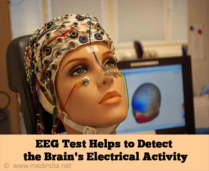 EEG Test Helps to Detect the Brain's Electrical Activity