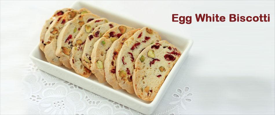 Egg White Biscotti