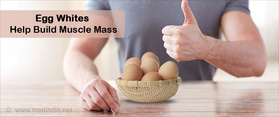 Egg Whites Help Build Muscle Mass