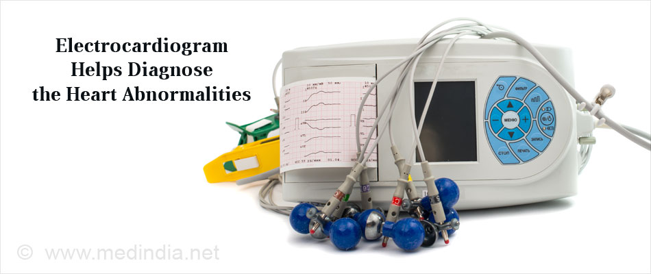 Electrocardiogram Helps Diagnose the Heart Abnormaliteis