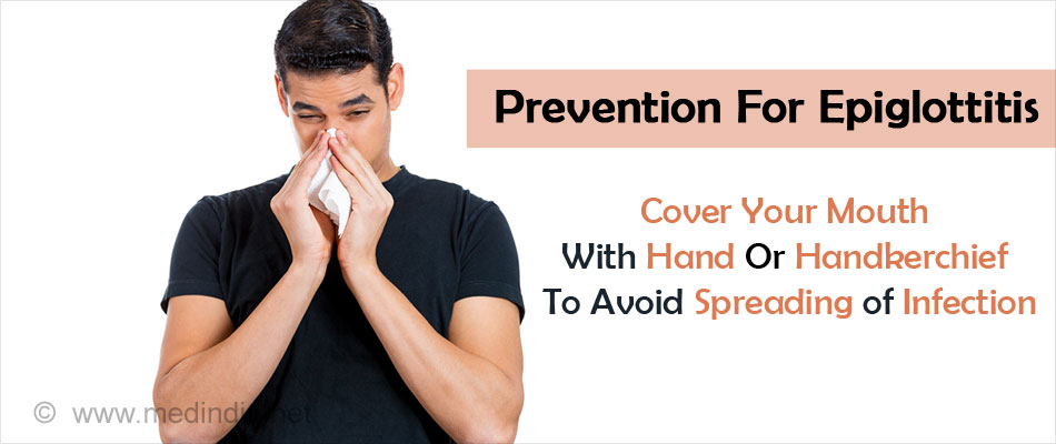 Cover Your Mouth with Hand or Handkerchief To Avoid Spreading of Infection