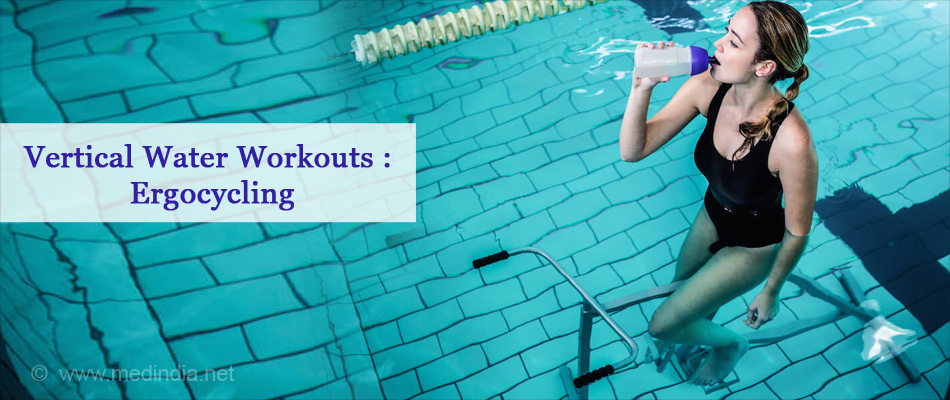 Vertical Water Workouts : Ergocycling