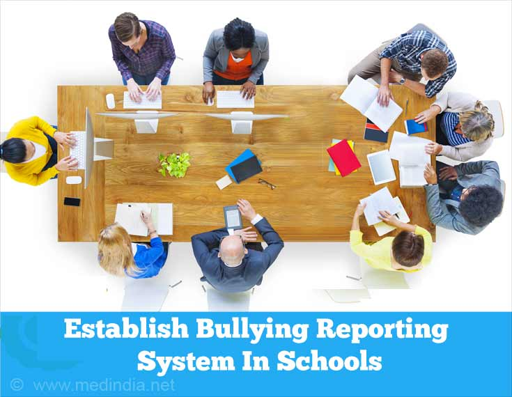 Establish Bullying Reporting System In Schools
