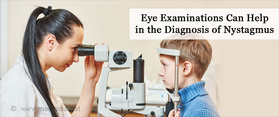 Eyes Examinations Can Help in the Diagnosis of Nystagmus