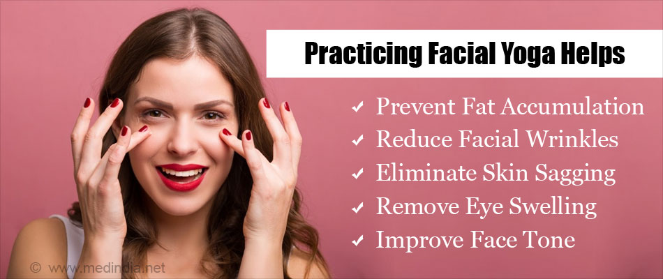 Facial Yoga Helps to Reduce Face Fat