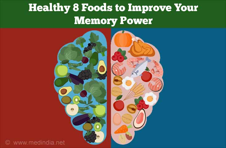 Foods to Improve Memory Power