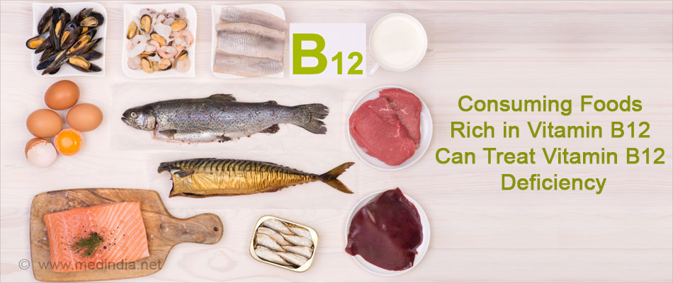 Consume Foods Rich in Vitamin B-12 Can Treat Vitamin B12 Deficiency