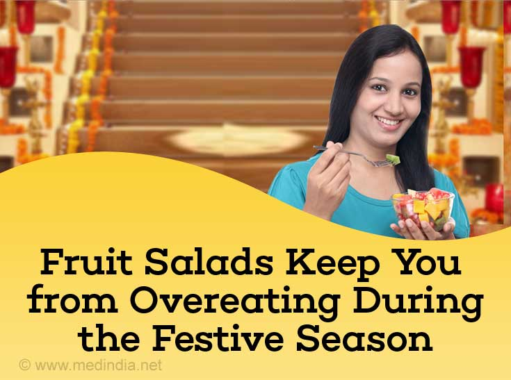 Fruit Salads Keep You from Overeating During the Festive Season