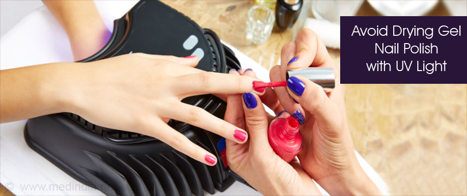 Gel Nail Polish With UV light