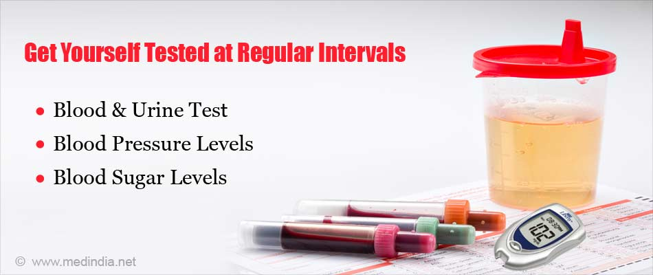 Get Yourself Tested at Regular Intervals