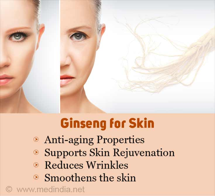 Ginseng for Skin