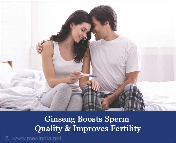 Ginseng Boosts Sperm Quality & Improves Fertility