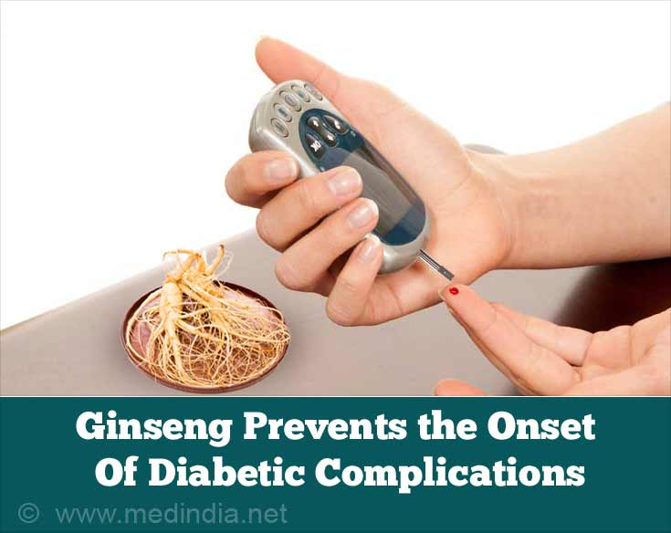 Ginseng Prevents the Onset Of Diabetic Complications