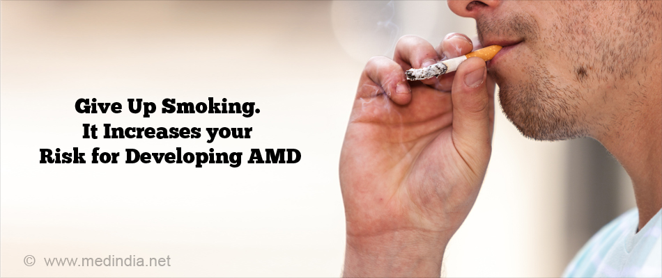 Give Up Smoking. It Increases your Risk for Developing AMD