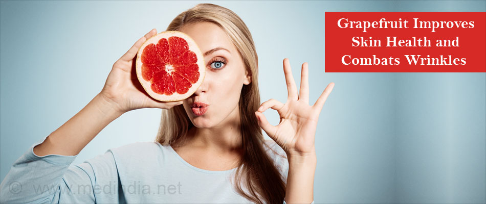 Grapefruit Improves Skin Health and Combats Wrinkles