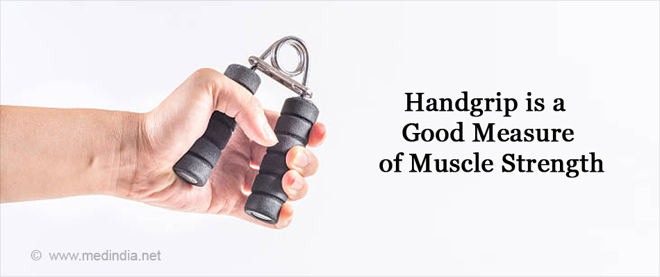 Handgrip is a Good Measure of Muscle Strength