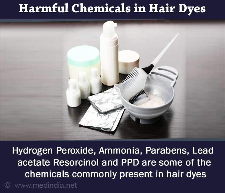 Harmful Chemicals in Hair Dyes
