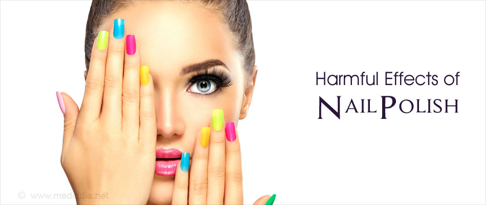 Harmful Effects of Nail Polish
