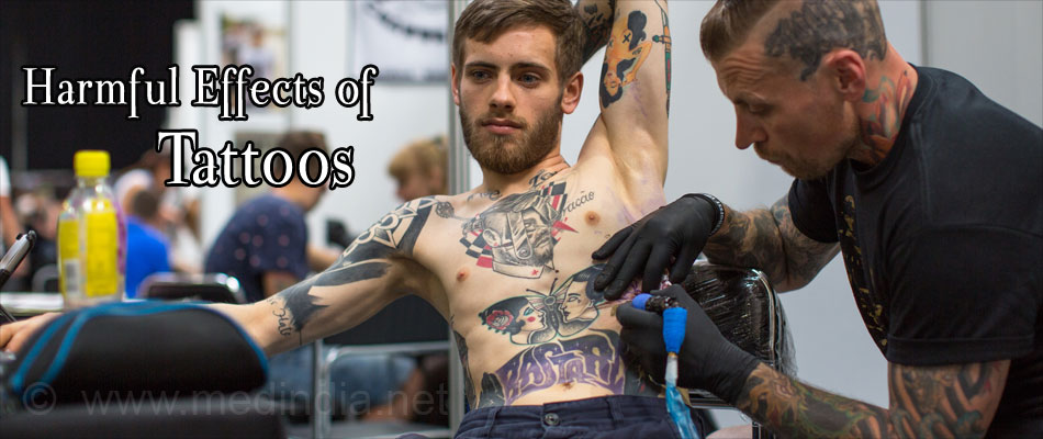 Harmful Effects of Tattoos
