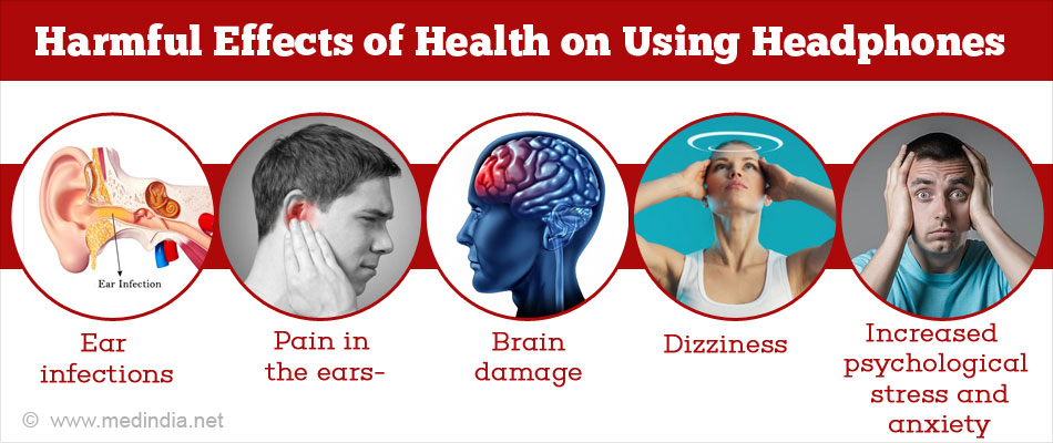 Harmful Effects of Using Headphones on Health
