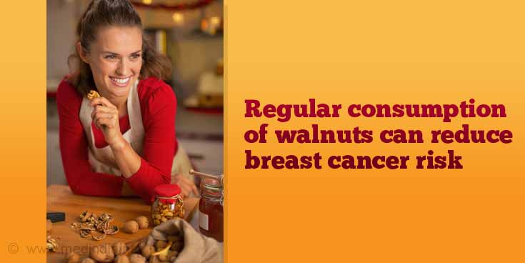 Walnuts Reduce Breast Cancer Risk