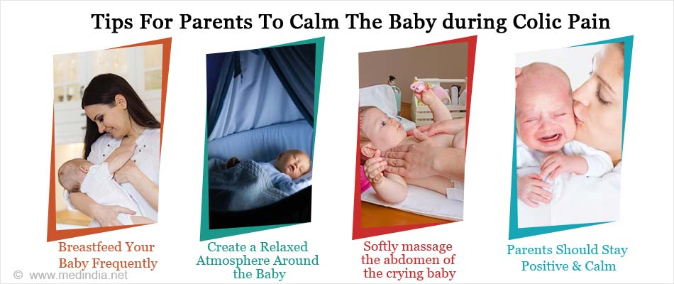 Tips For Parents To Calm The Baby during Colic Pain