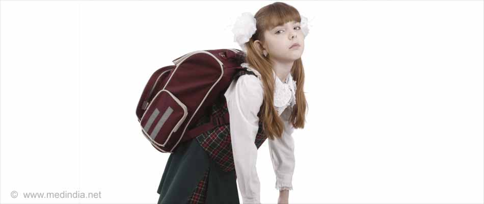 Heavy School Bag Cause Back Pain in Children