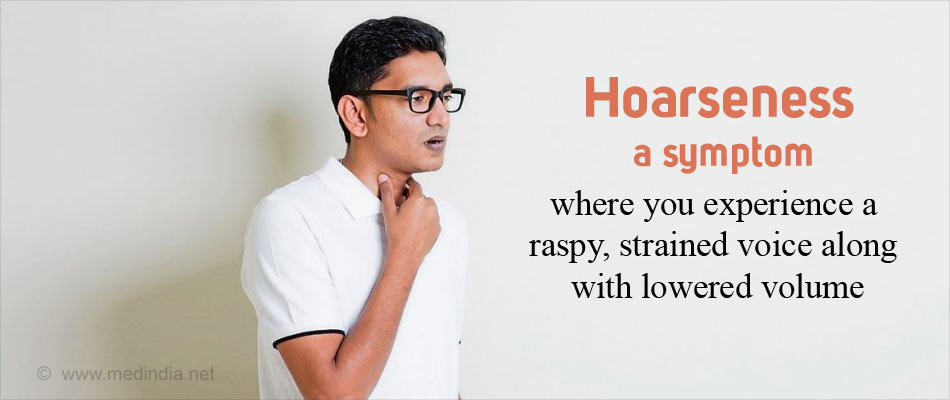 Hoarseness - Abnormal Voice Changes