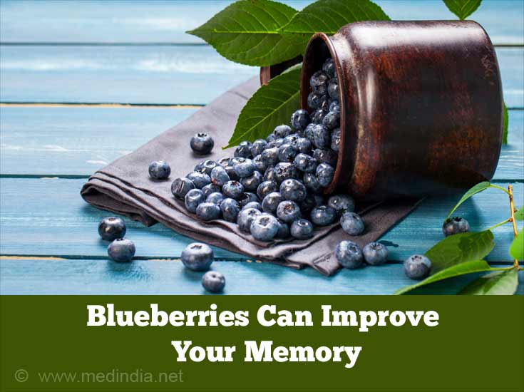 Foods to Improve Memory Power: Blueberries