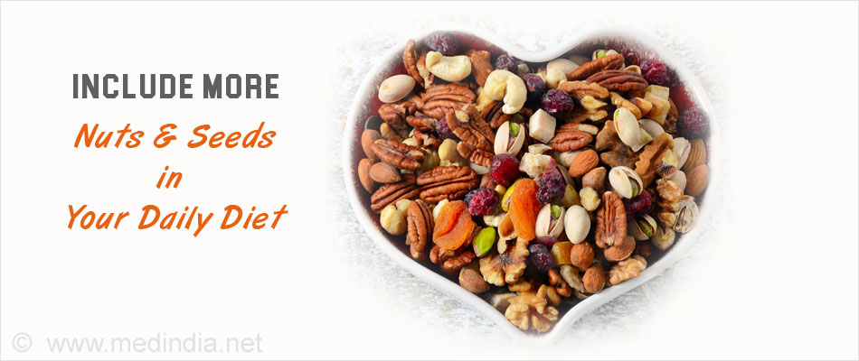 Include More Nuts & Seeds in Your Daily Diet