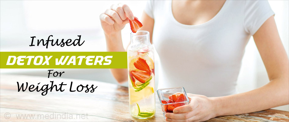 Infused Detox Waters for Weight Loss