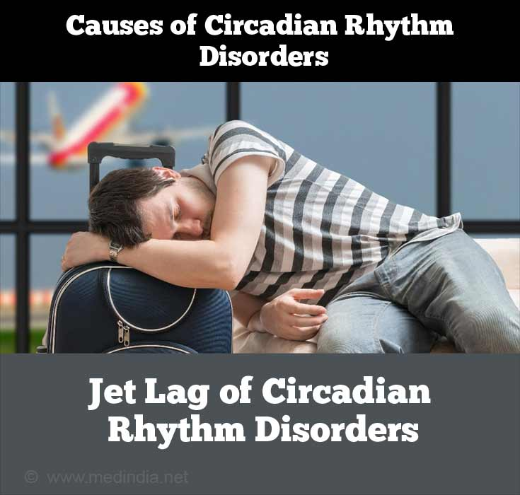 Jet Lag is Caused By Disturbance to the Body's Circadian Rhythm