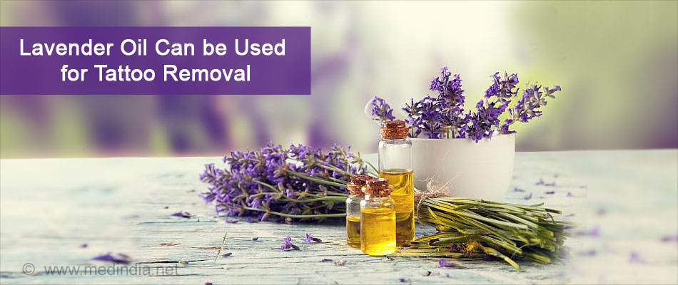 Lavender Oil Can be Used for Tattoo Removal