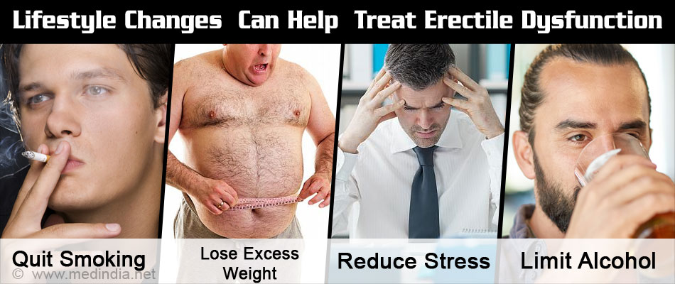 Lifestyle Changes  Can Help  Treat Erectile Dysfunction