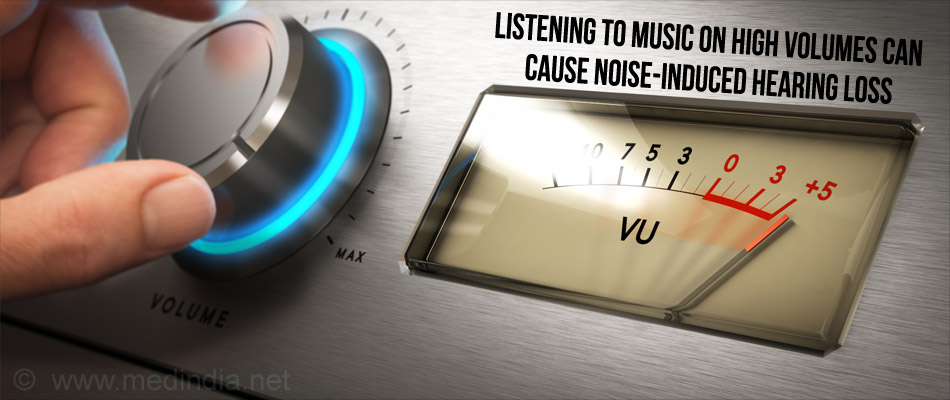 Listening to Music On High Volumes Can Cause Noise-Induced Hearing Loss