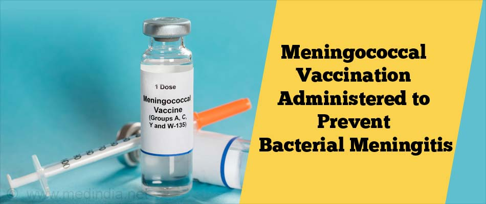 Meningococcal Vaccination Administered to Prevent Bacterial Meningitis