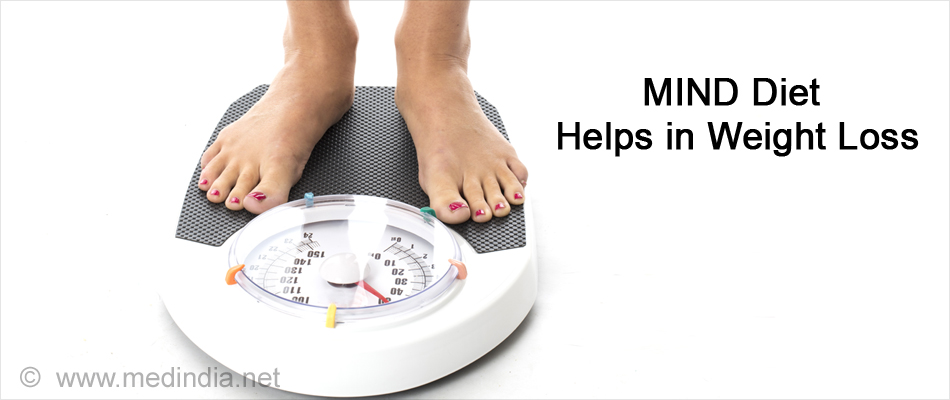 Mind Diet Helps in Weight Loss