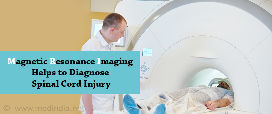 Magnetic Resonance Imaging Helps to Diagnose Spinal Cord Injury