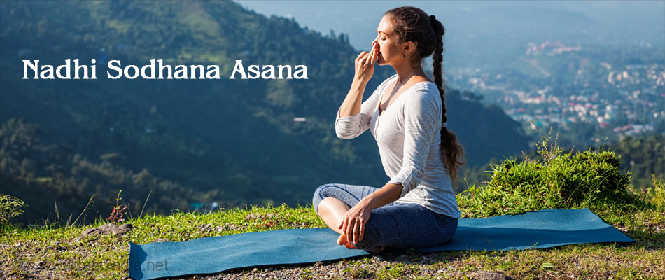 Nadhi Sodhana Asana for Heartburn Relief
