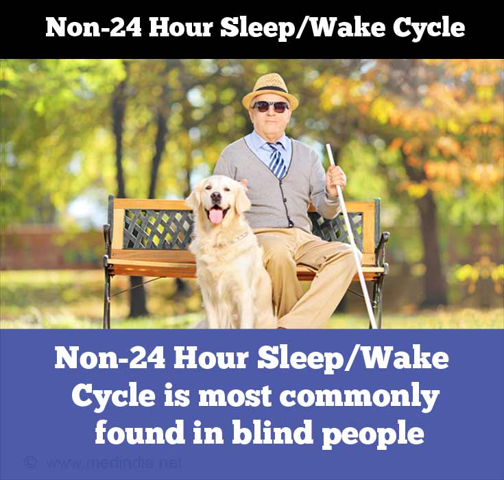 Non-24-Hour Sleep-Wake Disorder Common in Blind People