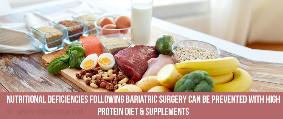 Nutritional Deficiencies Following Bariatric Surgery Can Be Prevented By Calcium And Vitamin Supplements