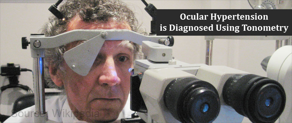 Ocular Hypertension Diagnosed Using Tonometry