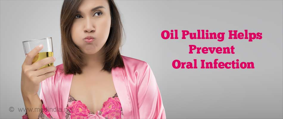 Oil Pulling for Oral Care